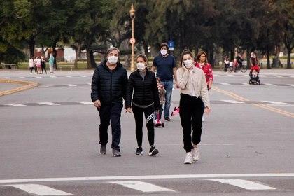 El fin de semana se observó un mayor caudal de gente en las calles porteñas