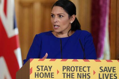 Priti Patel (Pippa Fowles/10 Downing Street/Handout via REUTERS)