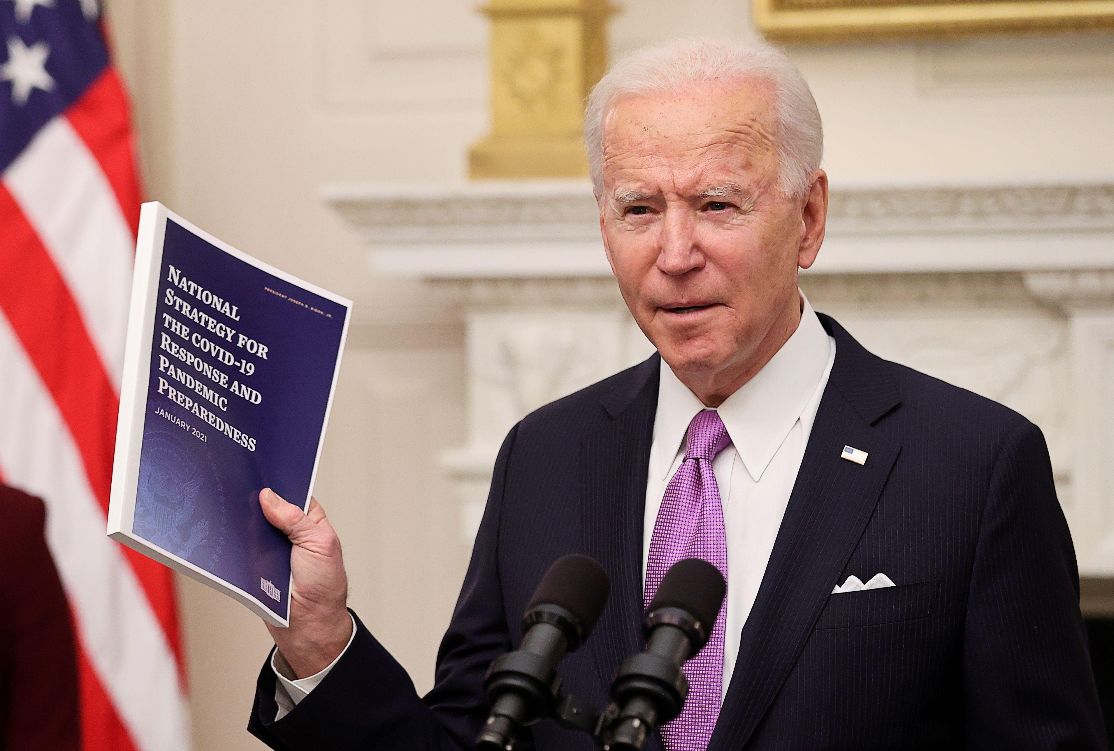 El presidente de los Estados Unidos, Joe Biden. Foto: REUTERS/Jonathan Ernst
