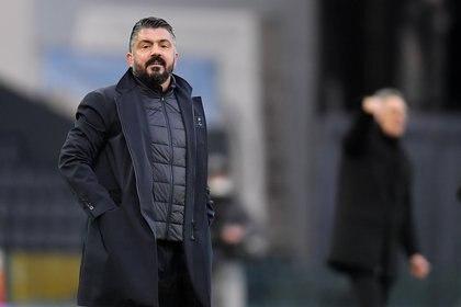 El Napoli de Gattuso es sexto y pelea por meterse en los puestos de Champions League (Reuters)