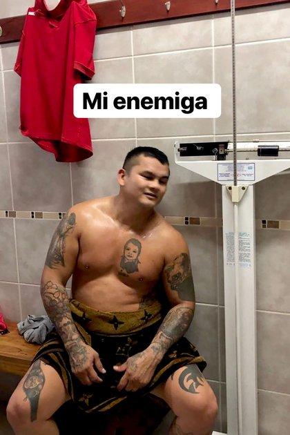 La enemiga de Chino Maidana (captura de Instagram)