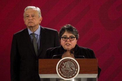 Raquel Buenrostro Sánchez es la mujer de confianza de Andrés Manuel López Obrador en la Secretaría de Hacienda y Crédito Público (SHCP) (Foto: Cuartoscuro)