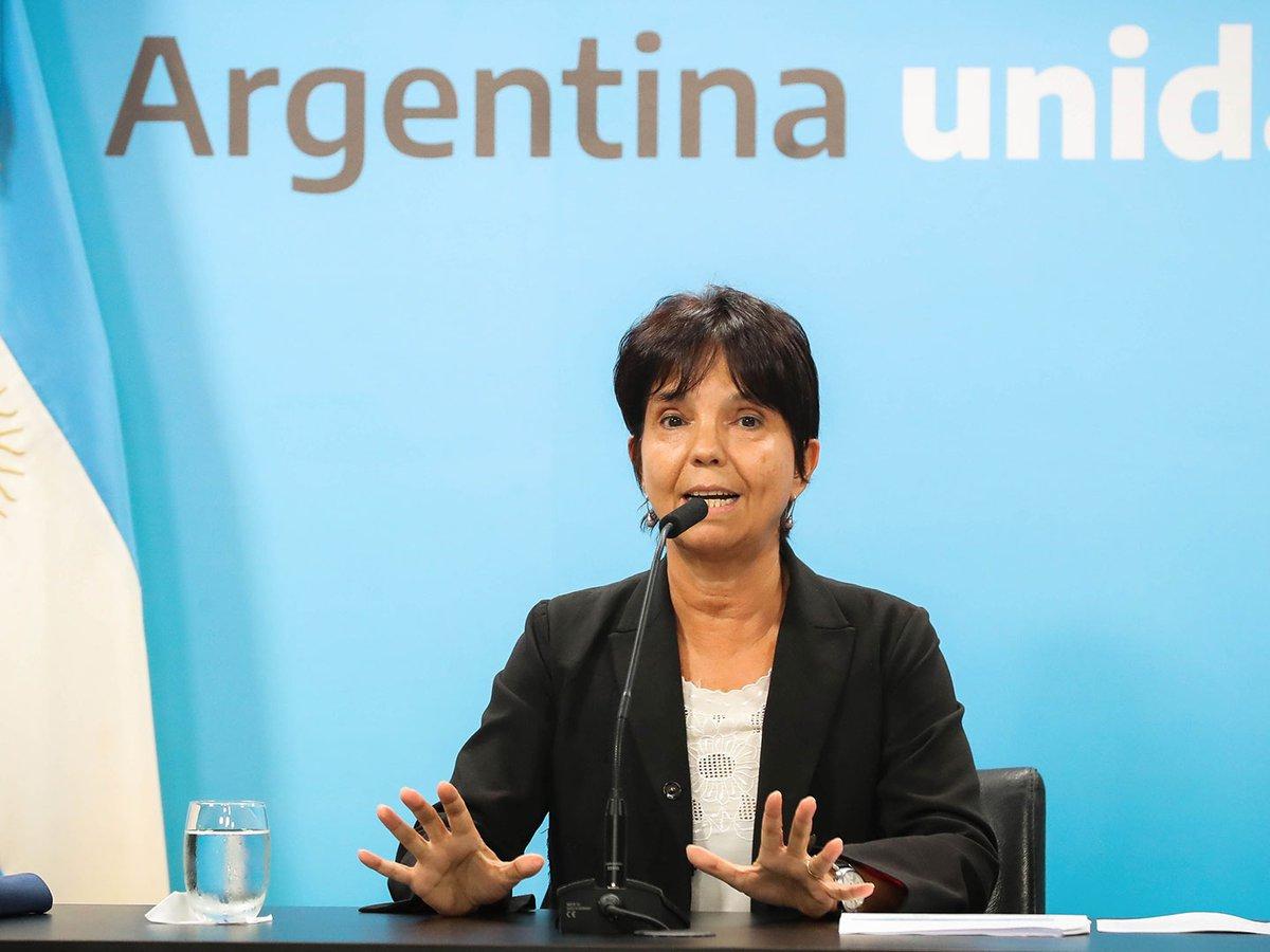 """Mercedes Marcó del Pont, titular de la AFIP: """"Este gobierno no va a  devaluar"""" - Infobae"""