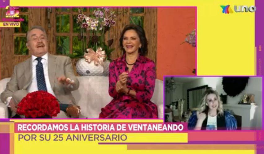 Los conductores recuerdan momentos divertidos de Sarmiento (Captura: Tv Azteca)