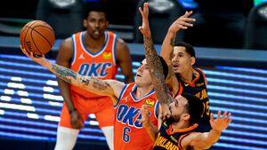 """""""¿Cómo lo vio ahí el Tortuga?"""": la espectacular asistencia de espaldas de Gabriel Deck que enloqueció a la NBA"""