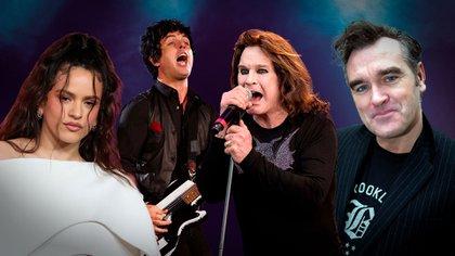 Rosalia, Green Day, Ozzy Osbourne y Morrissey