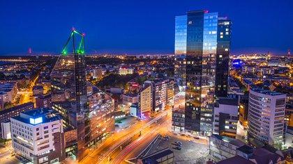 Tallin es la capital de Estonia, una ciudad pujante y vanguardista
