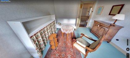 Así era el cuarto de Ana Frank.