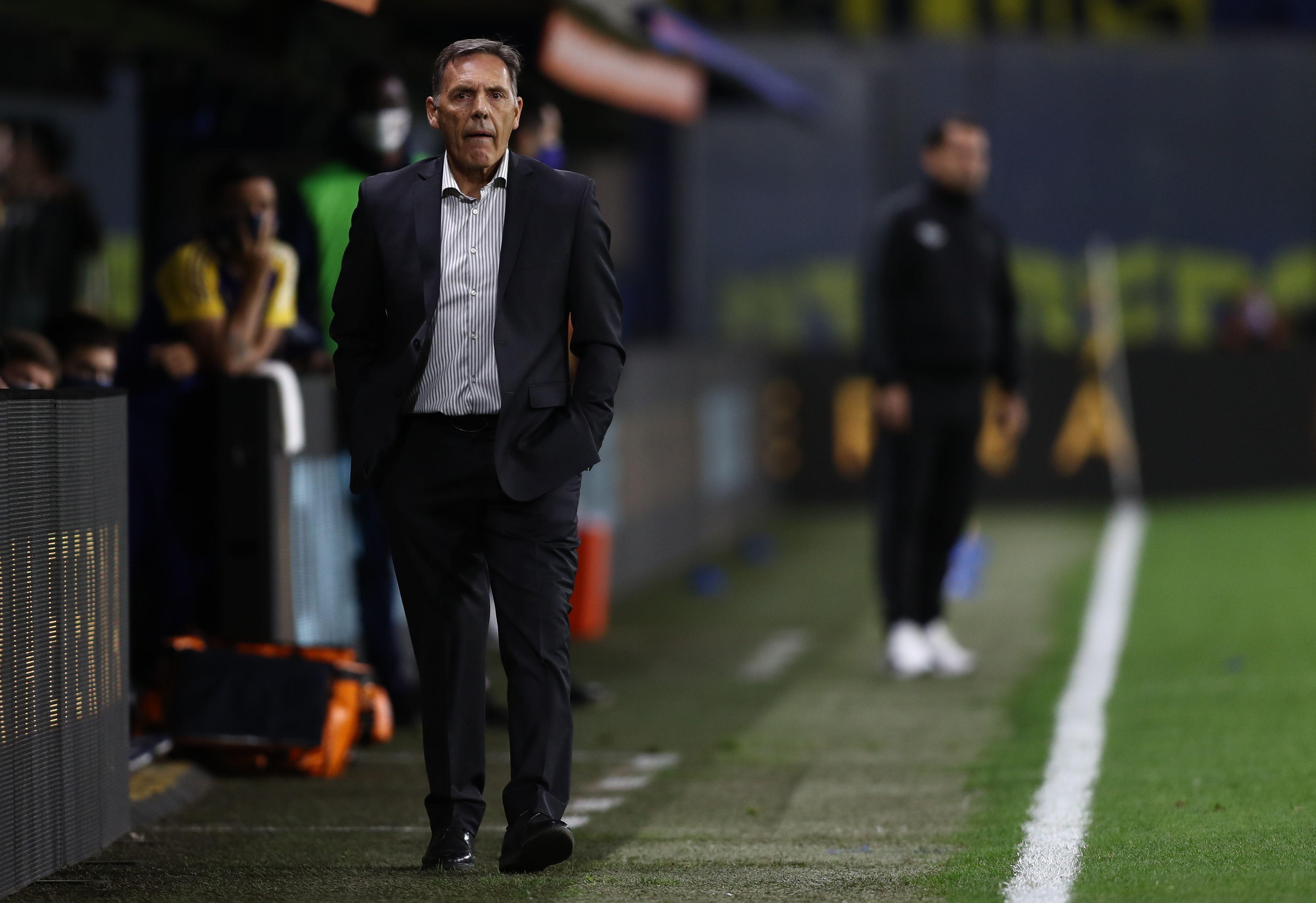 Miguel Ángel Russo entró en la historia grande de Boca (REUTERS/Agustin Marcarian)