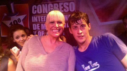 Villarreal con Valeria Lynch