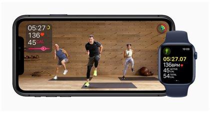 Apple Watch 6 incorpora, por medio de la app, nuevas opciones para ejercitarse