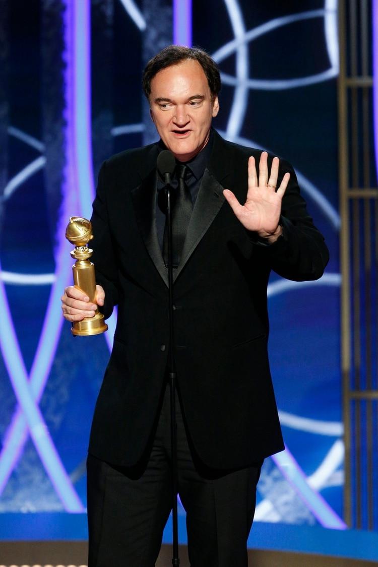 Quentin Tarantino (Paul Drinkwater/NBC Universal/Handout via REUTERS)