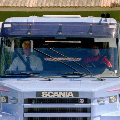 Con el Scania quería evitar a los periodistas.