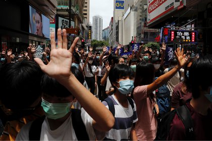 Hong Kong convocó a una nueva jornada de protestas