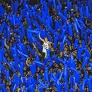 Argentina's Boca Juniors supporters cheer during the Copa Libertadores 2018 quarter final first leg football match Brazil's Cruzeiro at La Bombonera stadium in Buenos Aires, Argentina, on September 19, 2018. / AFP PHOTO / EITAN ABRAMOVICH