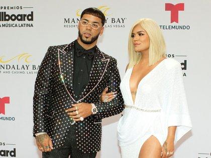 Así se dejaban ver en los Latin Billboard de 2019