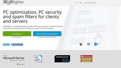 """La firma de seguridad fue crítica con la Embajada de México en Guatemala: """"Fallaron dos veces"""", explicaron (Foto: Captura de pantalla SPAMfighter.com)"""