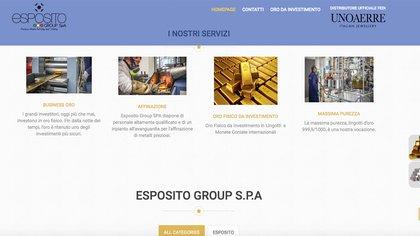 Esposito es un empresa italiana especializada en la compra y venta de oro