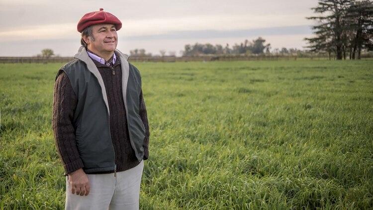 Daniel Pelegrina es el presidente de la Sociedad Rural Argentina