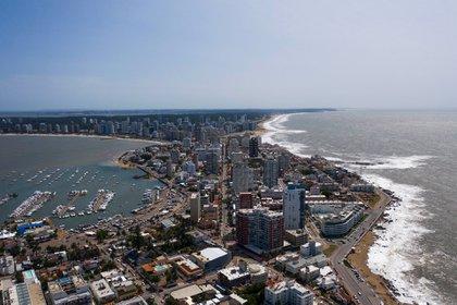 Punta del Este, uno de los destinos más elegidos por los argentinos (Pablo La Rosa)
