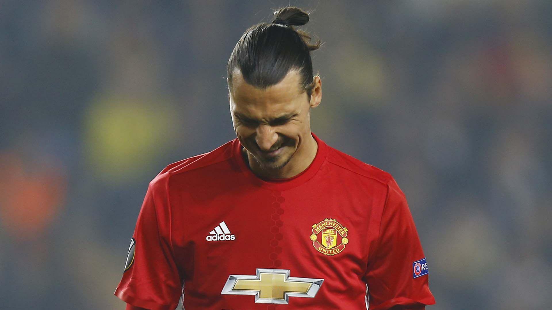 Zlatan durante su paso por el Manchester United (Foto: Reuters)