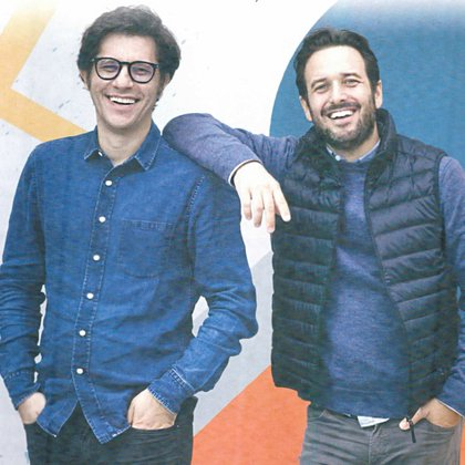 Martín Añazco y Diego Meller.