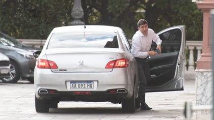Arroyo fue respaldado por Alberto Fernández (Adrián Escandar)