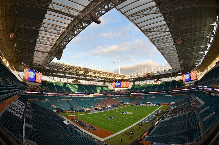 Será la ocasión número 11 que Miami sea sede del Super Bowl (Foto:Steve Mitchell/USA TODAY Sports)