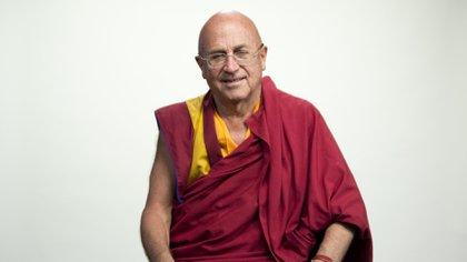 El monje budista Matthieu Ricardes uno de los discípulos del Dalai Lama