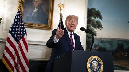 En la imagen, el presidente de EE.UU., Donald J. Trump. EFE/Doug Mills/Archivo
