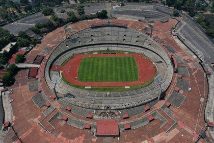Vista panorámica del Estadio Universitario (Foto: Galo Cañas/ Cuartoscuro)
