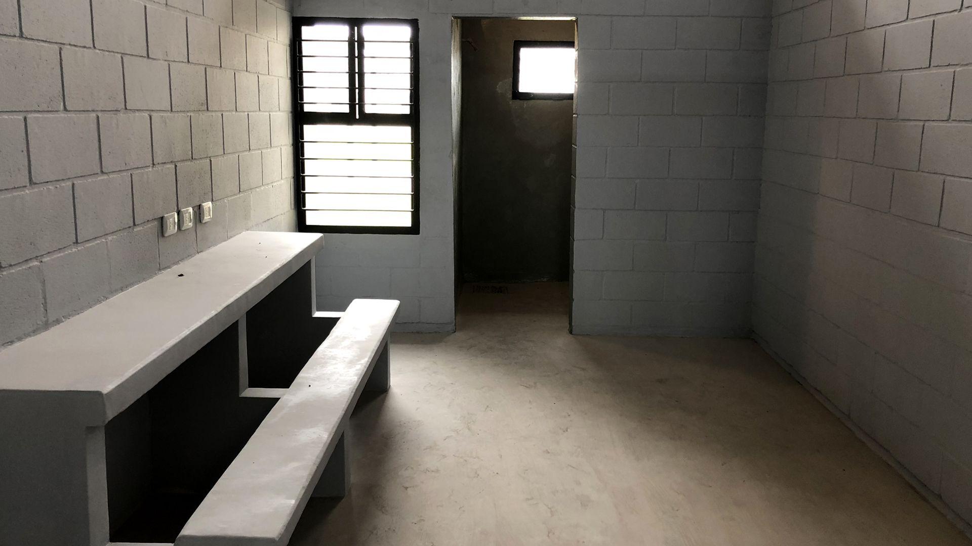 Una celda de la Unidad Nº 57 de Campana por dentro, posible destino de los acusados