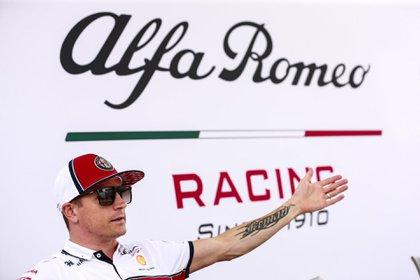 Kimi Raikkonen, piloto de Alfa Romeo (Prensa Alfa Romeo)