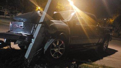 """Una persecución en Celaya, Guanajuto por un auto robado, resultó en la captura del padre de José Antonio Yépez """"El Marro""""  (Foto: Twitter/@edgarfabianvf])"""