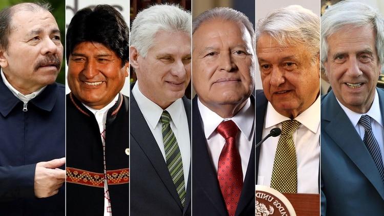 Nicaragua, Bolivia, Cuba, El Salvador, México y Uruguay son los únicos que respaldan a Nicolás Maduro