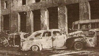 Los aviadores atacantes huyeron hacia Montevideo, Uruguay