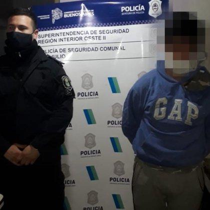 Renzo Pancera, detenido por el femicidio de Micaela Zalazar.