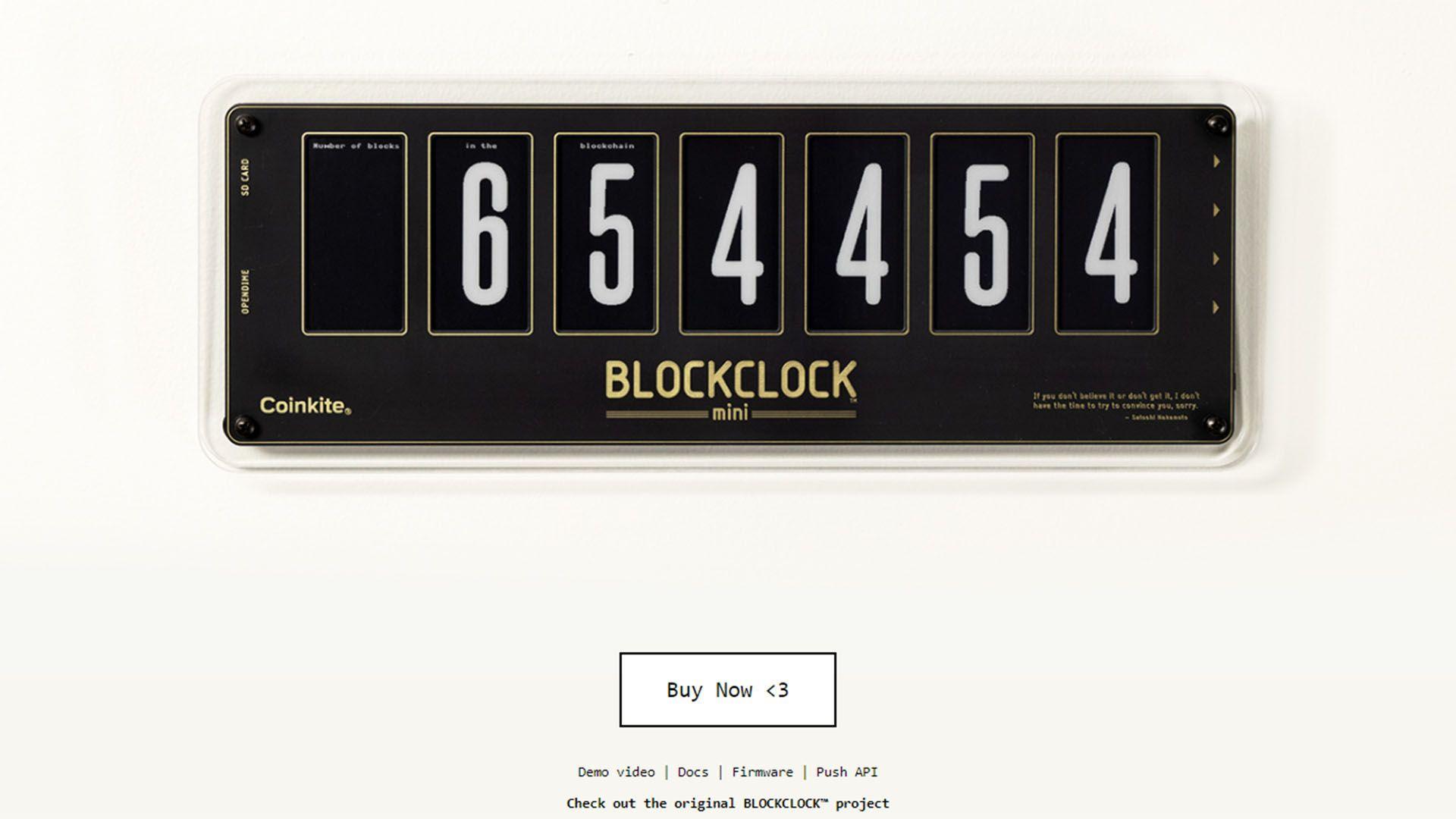 El cripto reloj de Jack Dorsey