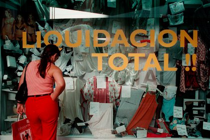 Indumentaria, calzados y decoración y textiles para el hogar fueron los sectores más afectados por la crisis. (Foto: Noticias Argentinas / Damián Dopacio)