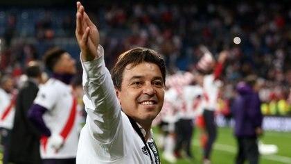 Gallardo sumó su noveno título en River (Reuters)