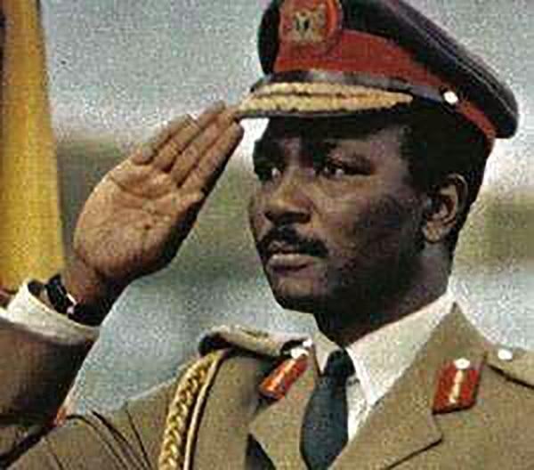 Yakubu Gowon, ex presidente de Nigeria (@NigerianMuseum)