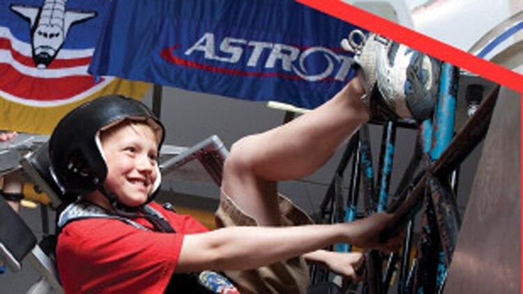 Los chicos harán experimentos científicos y también podrán aprender de la cultura estadounidense
