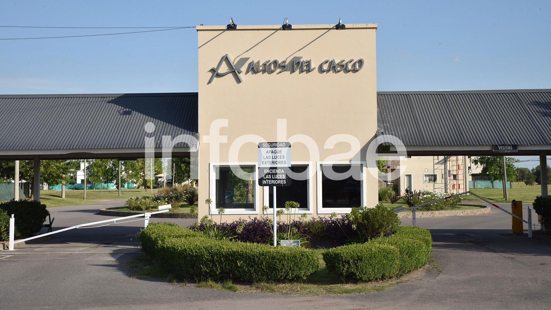 Altos del Cabo, el barrio donde vive la familia Guarino en las afueras de Zárate (Franco Fafasuli)