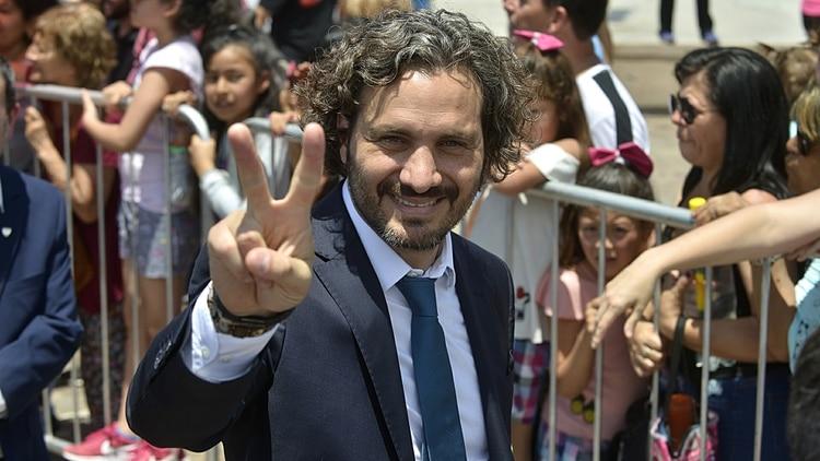 El jefe de Gabinete, Santiago Cafiero, anunció que el Gobierno avanzará en la reducción del gasto político