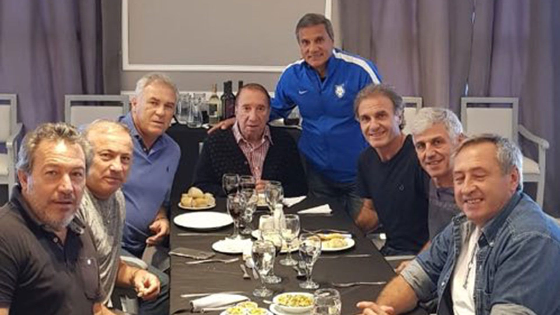 En marzo de 2019 Bilardo compartió un asado con algunos de los campeones de 1986