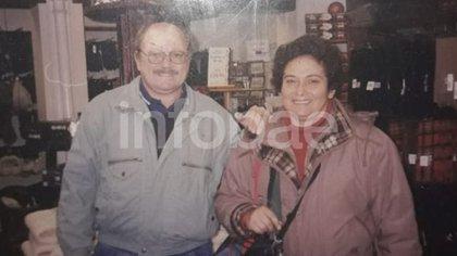 Jorge y Cristina estuvieron casados casi cuarenta años. Cuando ella falleció, en 2013, él sufrió un infarto.