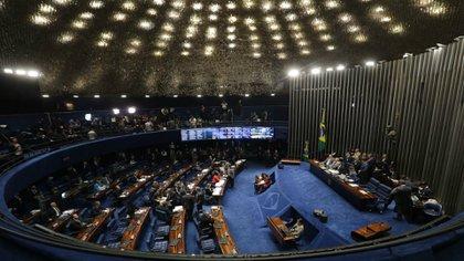 El Senado de Brasil (Reuters)