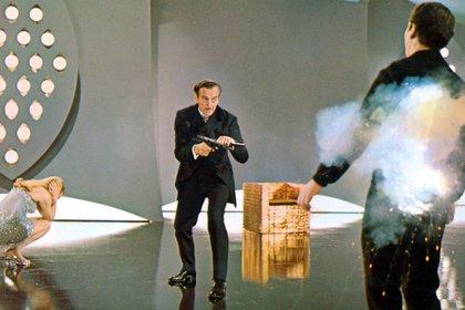 David Niven como James Bond en Casino Royal (Shutterstock)