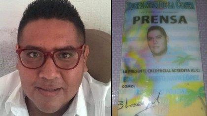 Sujetos armados asesinaron al periodista Edgar Alberto Nava López, director del portal de noticias La Verdad de Zihuatanejo (Foto: Twitter @AlertaPDMX)
