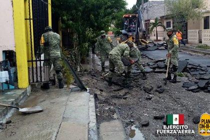 Las contrataciones se habrían realizado para campos cuarteles y guarniciones así como en trabajos de carreteras y caminos rurales (Foto: SEDENA)